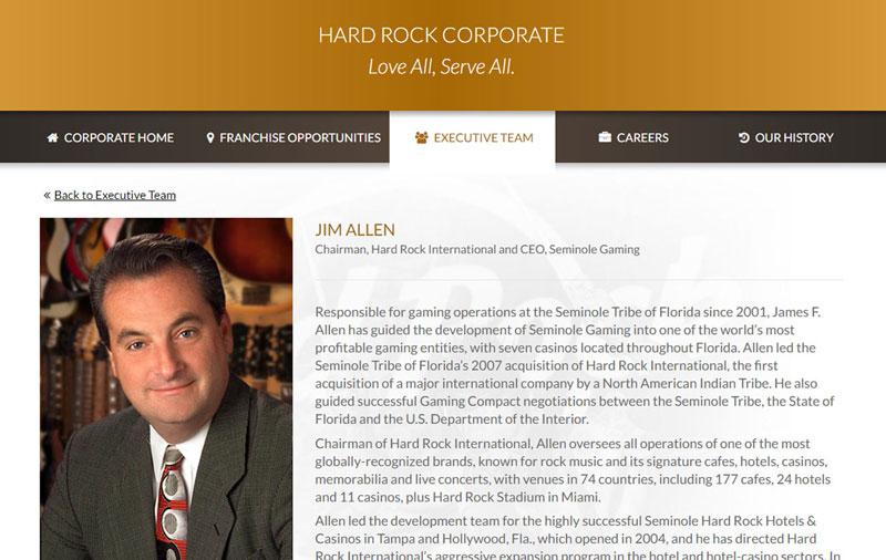 Hard Rock executives