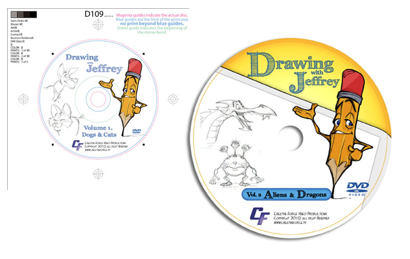 Drawing with Jeffrey dvd