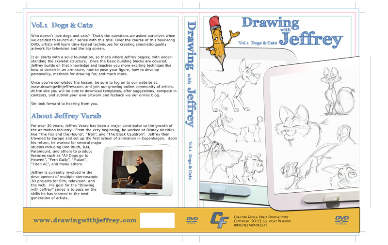 Drawing with Jeffrey dvd cover